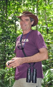 Martin Cohen at Lake Eacham FNQ