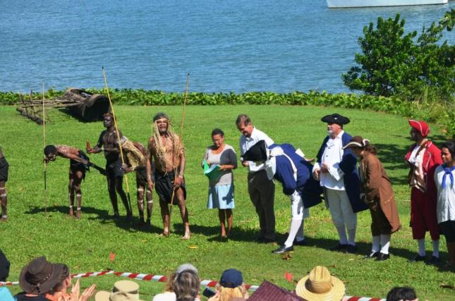 RE-ENACTMENT CAST TAKE A BOW