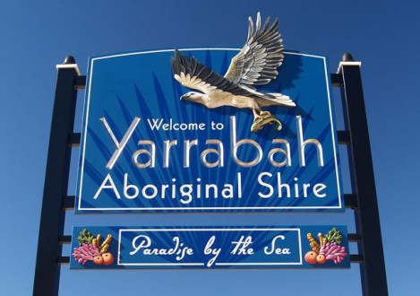 yarrabah-government-sign