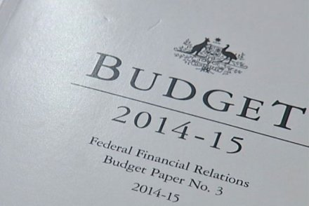 2014 Federal Budget document front page - ABC